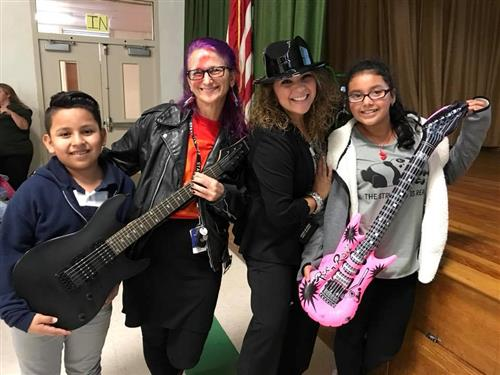 "Hillcrest Kicks-Off Literacy Initiative for their ""Reading Rock Stars"""