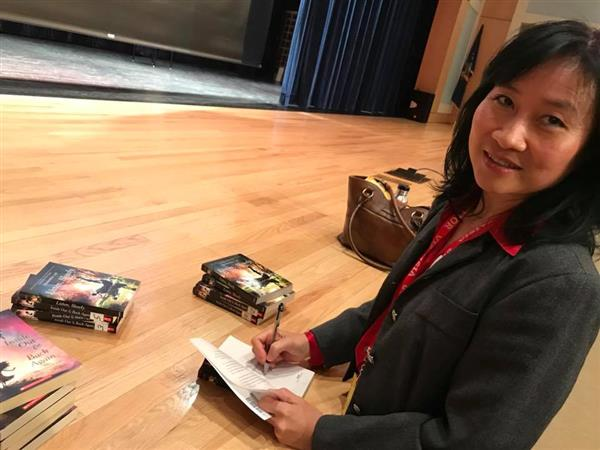 Award Winning Author Thanhha Lai Returns to PKMS