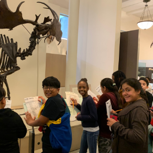 PKMS Students Visit Natural History Museum in NYC