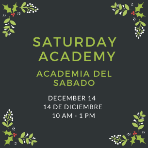 Saturday Academy Returns to PKMS on December 14