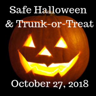Safe Halloween & Trunk-or-Treat Set for 10/27 at PHS
