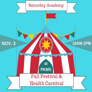 Saturday Academy Brings Fall Fun to PKMS on Nov. 3
