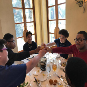 Peekskill MBK Students Visit the Culinary Institute of America