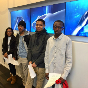 PHS Students Visit Microsoft Office in NYC