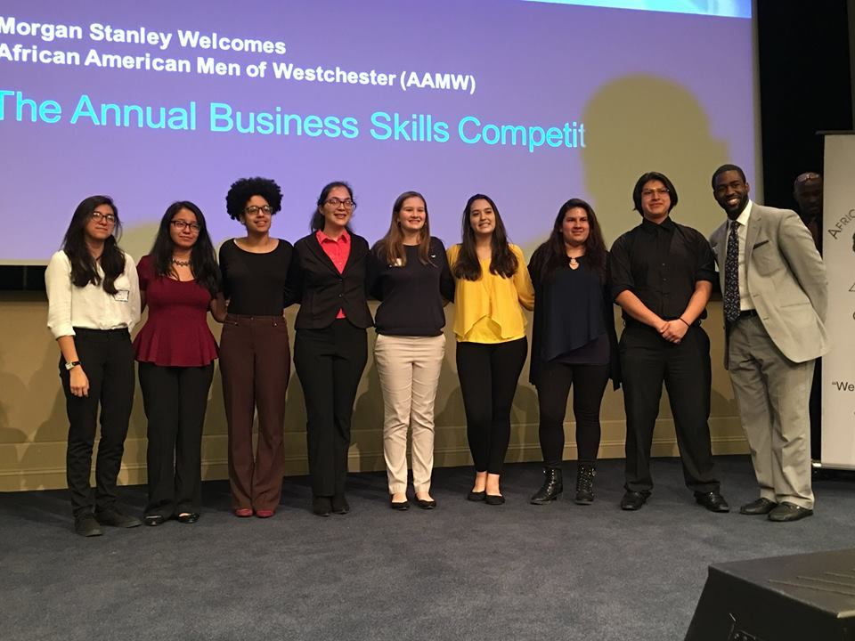 PHS Students Take First Prize at Westchester Business Olympics
