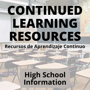 Continued Learning Resources for Students