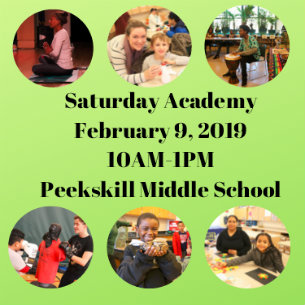 Saturday Academy Returns to PKMS on February 9