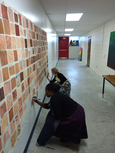 Art Students Embrace PHS' Diversity in Latest Collaborative Project