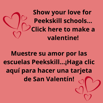 Show Your Love for Peekskill Schools this Valentine's Day
