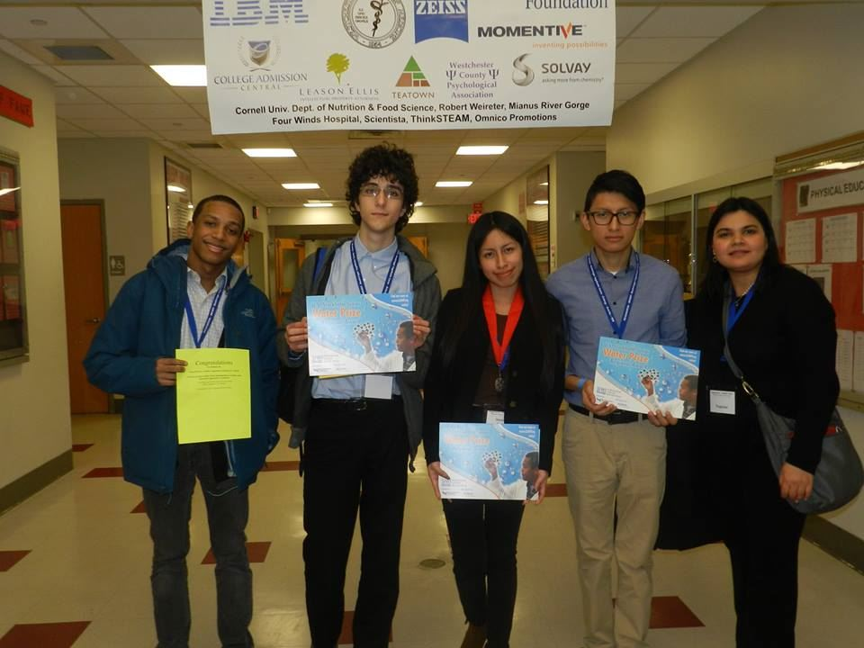 Peekskill Science Research Students Win Awards at Westchester Science and Engineering Fair