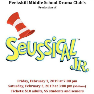 """Seussical, Jr"" Coming to the PKMS Stage this February!"
