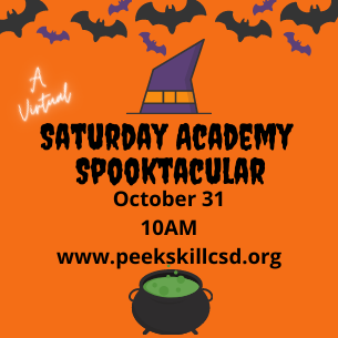 Saturday Academy Spooktacular (A Virtual Event)