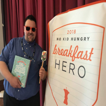 Peekskill's Andrew Weisman Announced as 1 of 5 Winners in the Nationwide 2018 No Kid Hungry School Breakfast Hero Contest