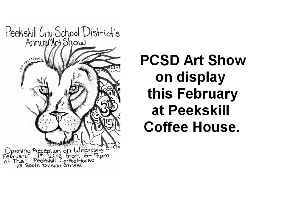 PCSD Art Show Returns to Peekskill Coffee House this February