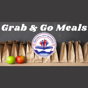 """Grab & Go"" Meal Schedules; Meal Delivery on Wednesdays"