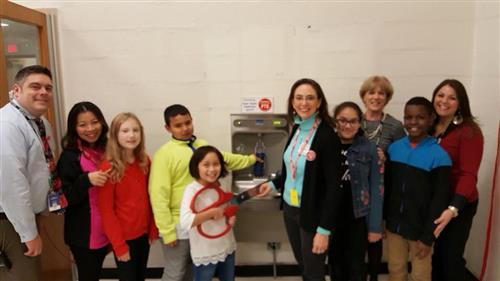 Peekskill PTO Purchases New Water Bottling Stations for Elementary Schools