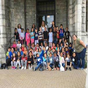 Woodside Students Visit Manhattanville College Campus