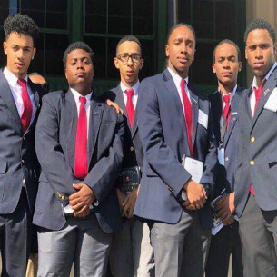Peekskill Students Suit Up Before Heading to MBK Youth Summit
