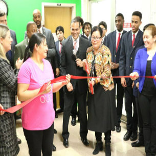 PCSD Holds Ribbon Cutting for Parent Center Grand Re-Opening