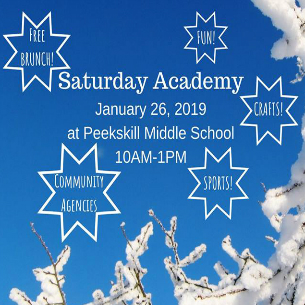 Saturday Academy Returns to PKMS on January 26