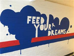 Mural by Ms. Coleman