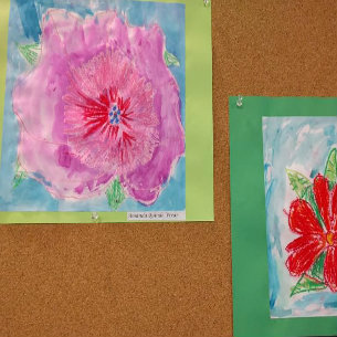 Woodside Art on Display at Field Library