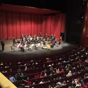 Oakside Strings Students Enjoy Westchester Philharmonic Orchestra at SUNY Purchase